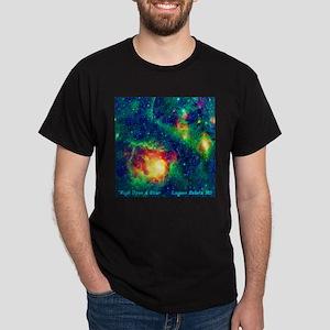 Lagoon Nebula M8 Dark T-Shirt