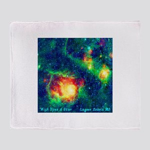 Lagoon Nebula M8 Throw Blanket