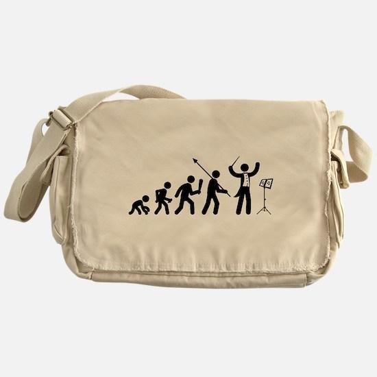 Music Conductor Messenger Bag