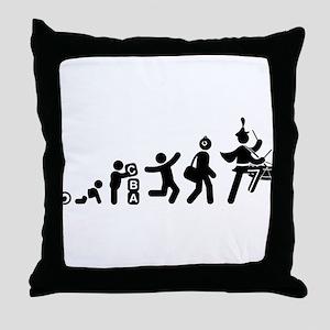 Snare Drummer Throw Pillow