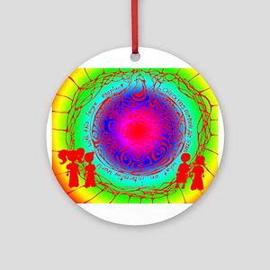 An Interesting World Ornament (Round)