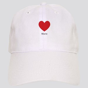 Marie Big Heart Baseball Cap