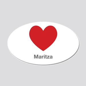 Maritza Big Heart Wall Decal