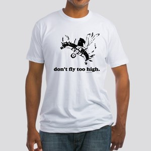 Fly Too High Fitted T-Shirt