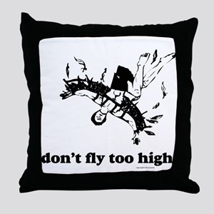 Fly Too High Throw Pillow