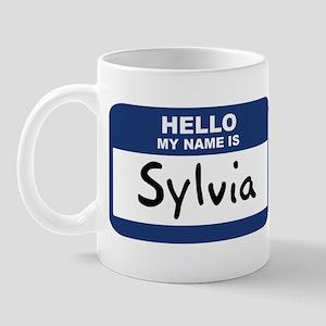 Hello: Sylvia Mug