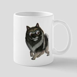 The Keeshond: A friend like no other! Mug