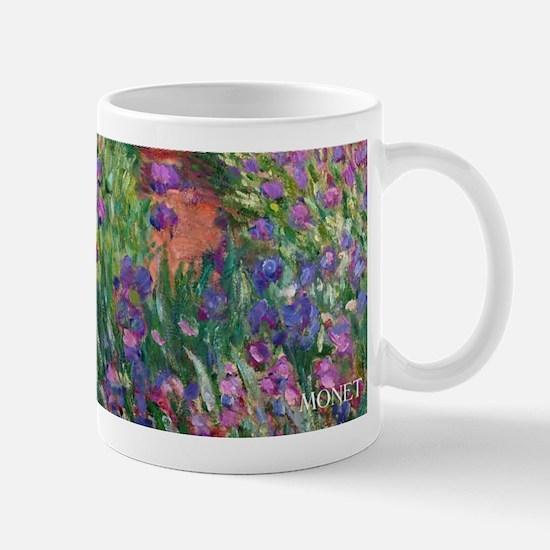 Monet Iris Garden Wraparound Mug