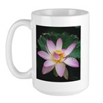 Pink Lotus Blossom Large Mug