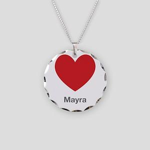Mayra Big Heart Necklace
