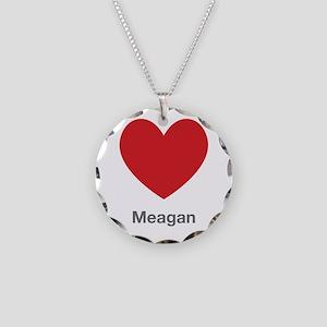Meagan Big Heart Necklace