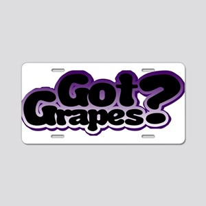gg Aluminum License Plate