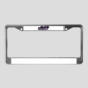 gg License Plate Frame