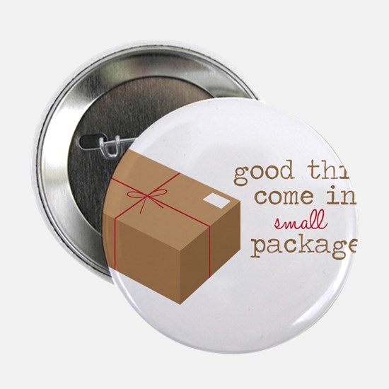 "Small Packages 2.25"" Button"