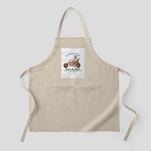 Born to Eat - UFG Biker T-shirt Apron