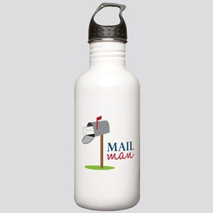 Mail Man Water Bottle