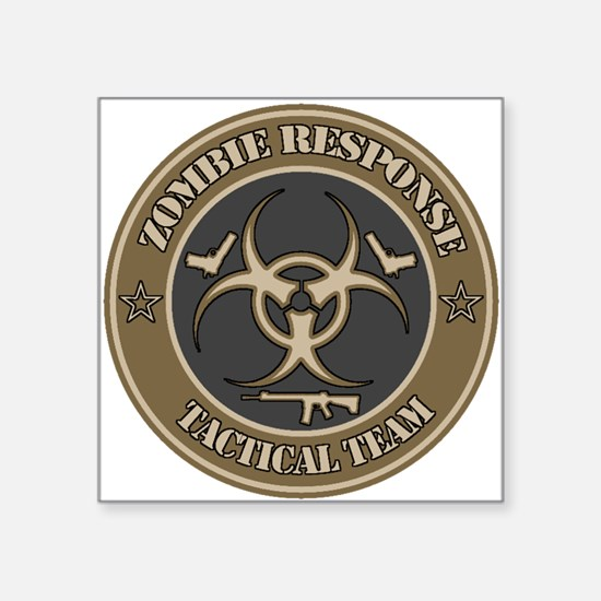 Desert Zombie Response Tactical Team Sticker
