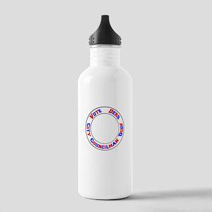 Vote Ders City Councilman Dude Water Bottle