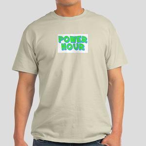 Power Hour Ash Grey T-Shirt