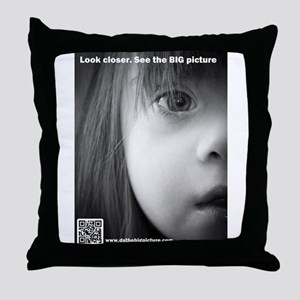 DS the BIG Picture Throw Pillow