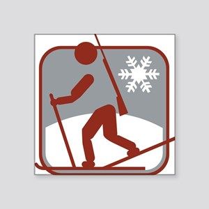 biathlon symbol Sticker