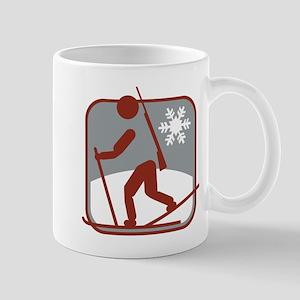 biathlon symbol Mug