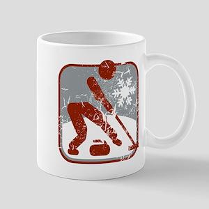 eisstockschiessen (used) Mug