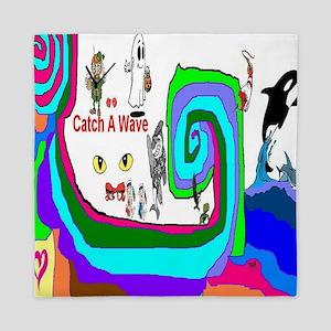 Catch_A_Wave Queen Duvet