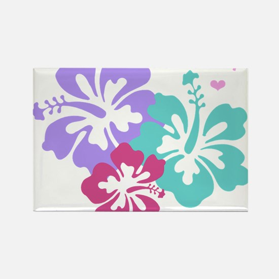 Island baby - pink Rectangle Magnet