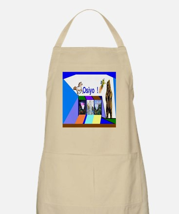 Native American Osiyo Apron