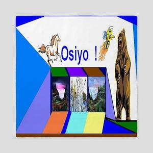 Native American Osiyo Queen Duvet
