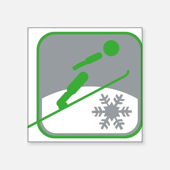 skispringen symbol Sticker