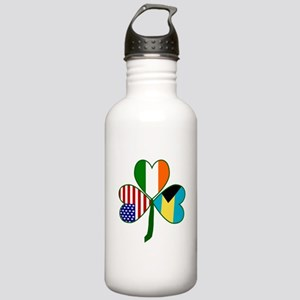 Shamrock of the Bahamas Stainless Water Bottle 1.0