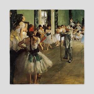 Degas Ballet Class Queen Duvet