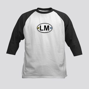 Islamorada - Oval Design. Kids Baseball Jersey