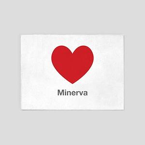 Minerva Big Heart 5'x7'Area Rug