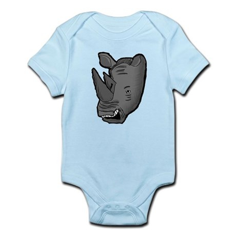 Rhino Head Body Suit