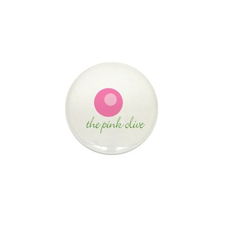 THE PINK OLIVE Mini Button (10 pack)