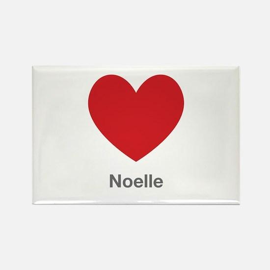 Noelle Big Heart Rectangle Magnet (100 pack)