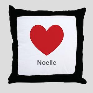 Noelle Big Heart Throw Pillow