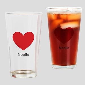 Noelle Big Heart Drinking Glass