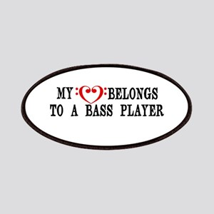 My Heart Belongs to a Bass Player Patches