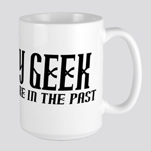History Geek Future in Past Mug