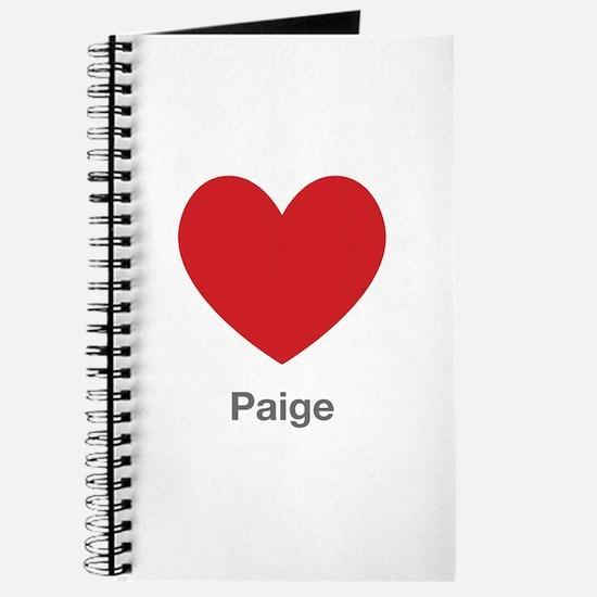 Paige Big Heart Journal
