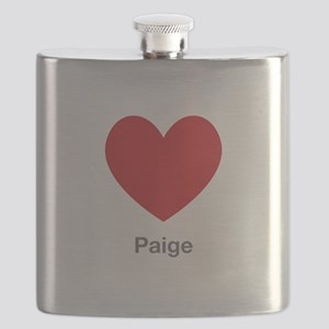 Paige Big Heart Flask