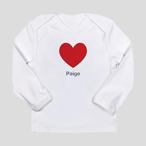 Paige Big Heart Long Sleeve T-Shirt