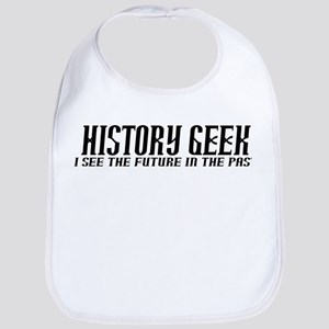 History Geek Future in Past Bib