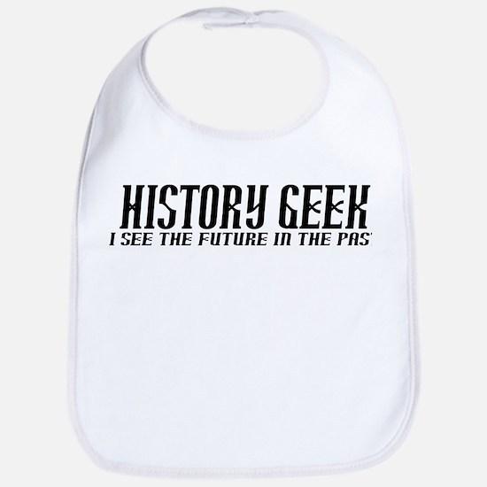 History Geek Future in Past Bib