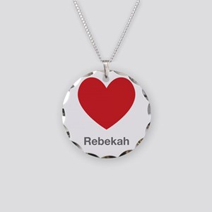 Rebekah Big Heart Necklace
