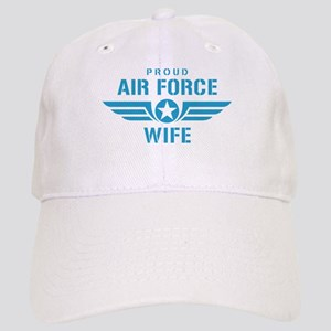Proud Air Force Wife W Cap